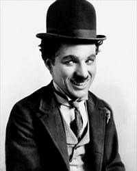 Chaplin u kostimu Skitnice